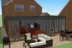 DOORS OPEN TWO WITH LINK TO OFFICE ORANGERY