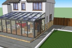 LARGE LEAN-TO